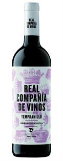 Real Compania de Vinos Tempranillo 2014 750ml - Case of 12